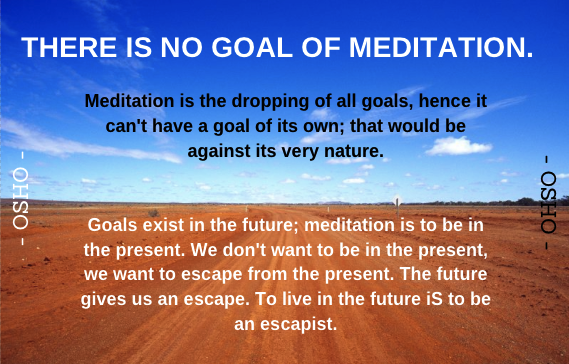 Meditation Quote-Osho