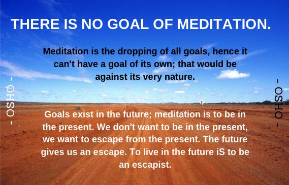 Meditation Quote-Osho